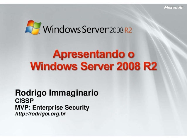 Rodrigo Immaginario  CISSP  MVP: Enterprise Security  http://rodrigoi.org.br