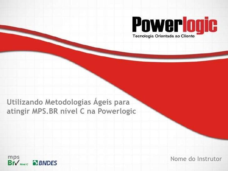 Palestra Gerenciamento de Projetos com Scrum e MPS.Br