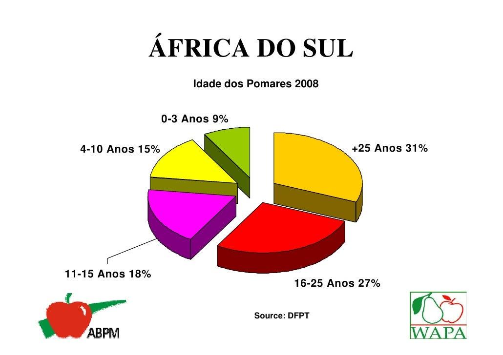 ÁFRICA DO SUL             Destino das Exportações 2007/08                   America do Norte           Russia 3%     1%   ...