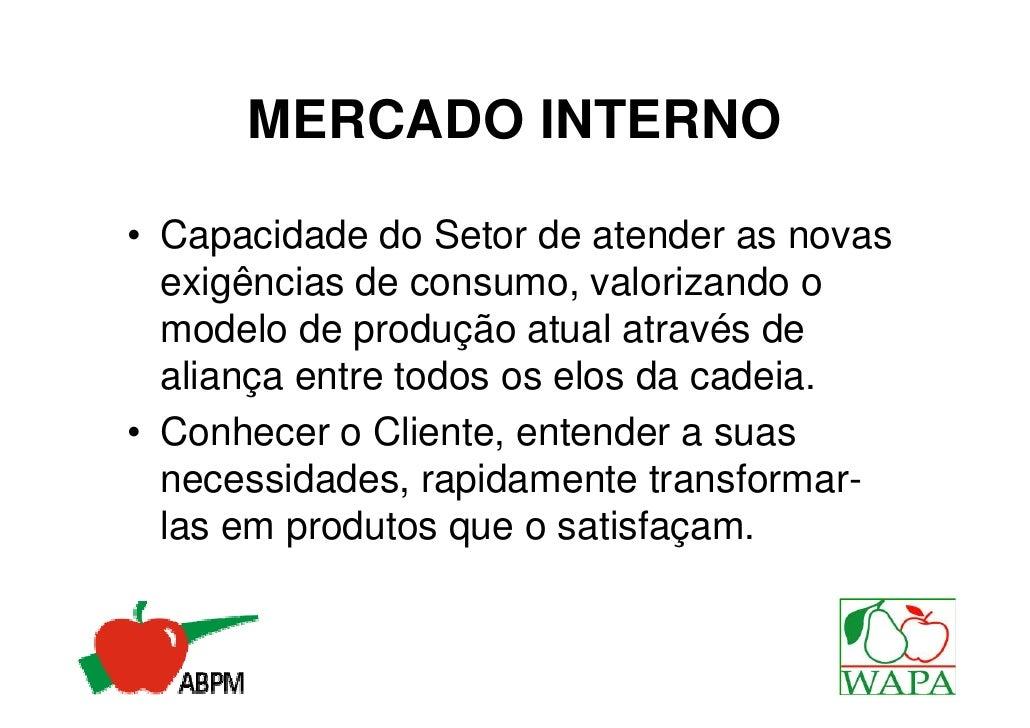 ORGANIZAÇÃO COMERCIAL• Muita oferta desestruturada de  muitas organizações• Conceito de qualidade vago,  falta aplicar a I...