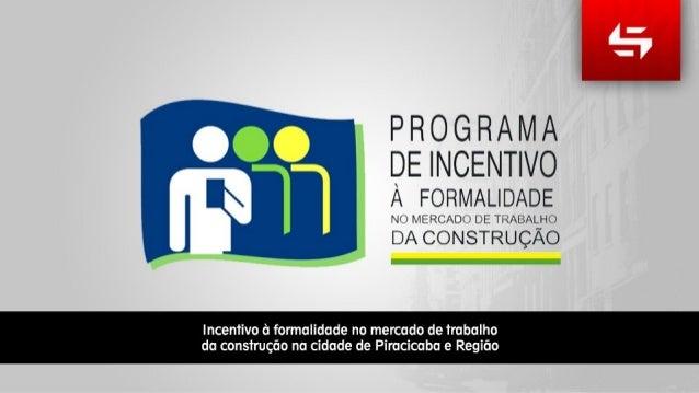 Sinticompi - Combate a informalidade na cidade de Piracicaba e Região