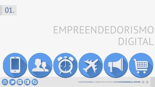 01.  EMPREENDEDORISMO DIGITAL  FLAVIO PAVANELLI  MARKETING DIGITAL  WWW.FLAVIOPAVANELLI.COM.BR