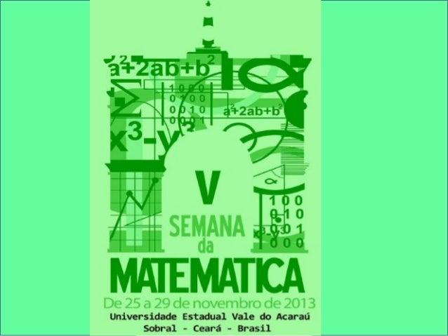 Arte e Tecnologia  na formação do professor de Matemática  Profa. Dra. Maria José Costa dos Santos