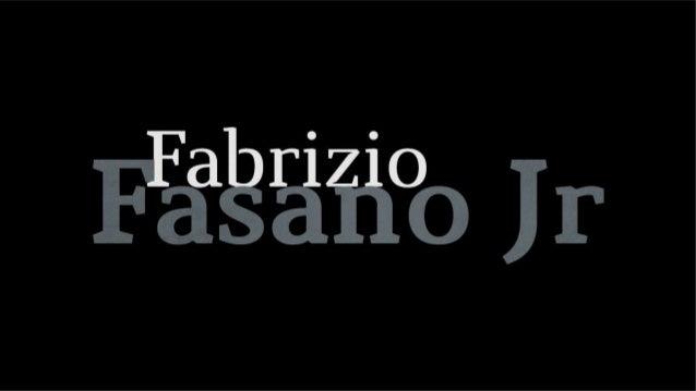 Fabrizio Fasano Jr.