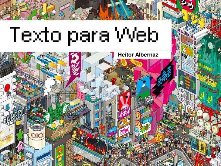 Palestra Texto Web