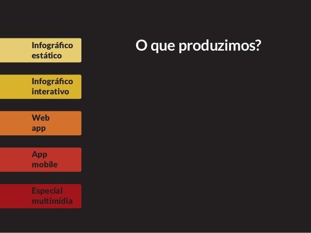 Web-infográficos e web-apps: como organizar informações Slide 3