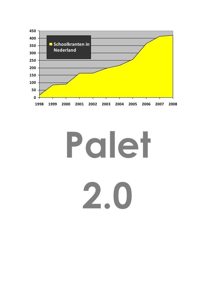 450 400 350        Schoolkranten in            Nederland 300 250 200 150 100 50  0   1998   1999   2000   2001   2002   20...