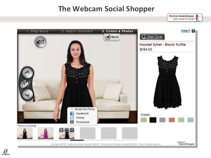 The Webcam Social Shopper