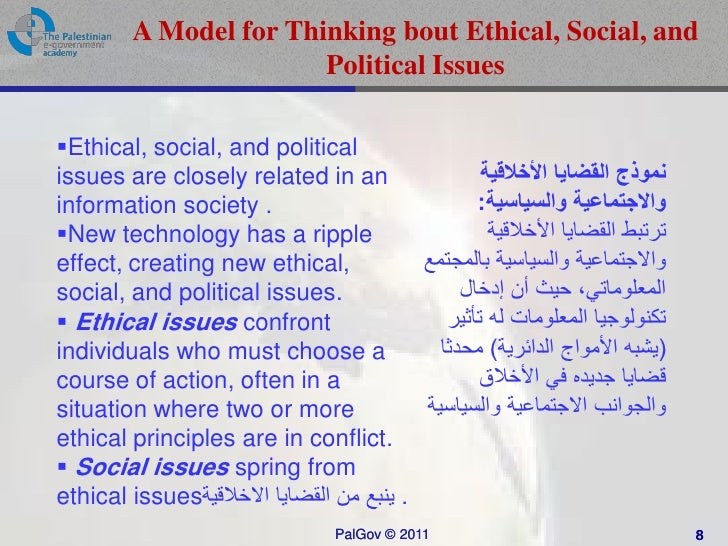 ethical and social issues ihrm The issues are more complex for ihrm because of the different social, economic, political, cultural and legal environments in which multinationals operate consequently, multinationals will need to develop self-regulatory practices via codes of ethics and behavioral guidelines for expatriate, tcn and local hcn staff.
