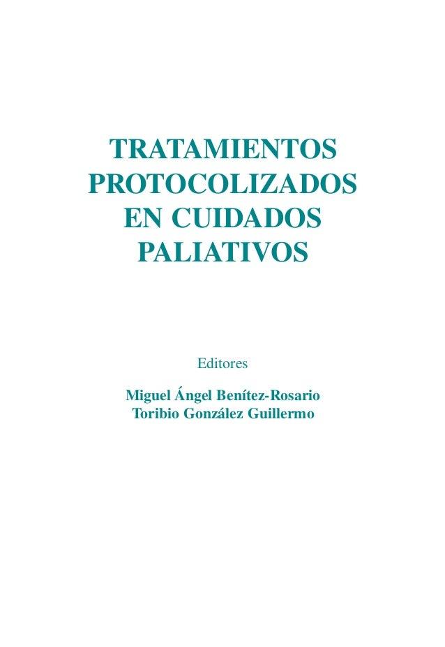 conuñero DEF   1/12/10   13:52   Página I                    TRATAMIENTOS                   PROTOCOLIZADOS                ...