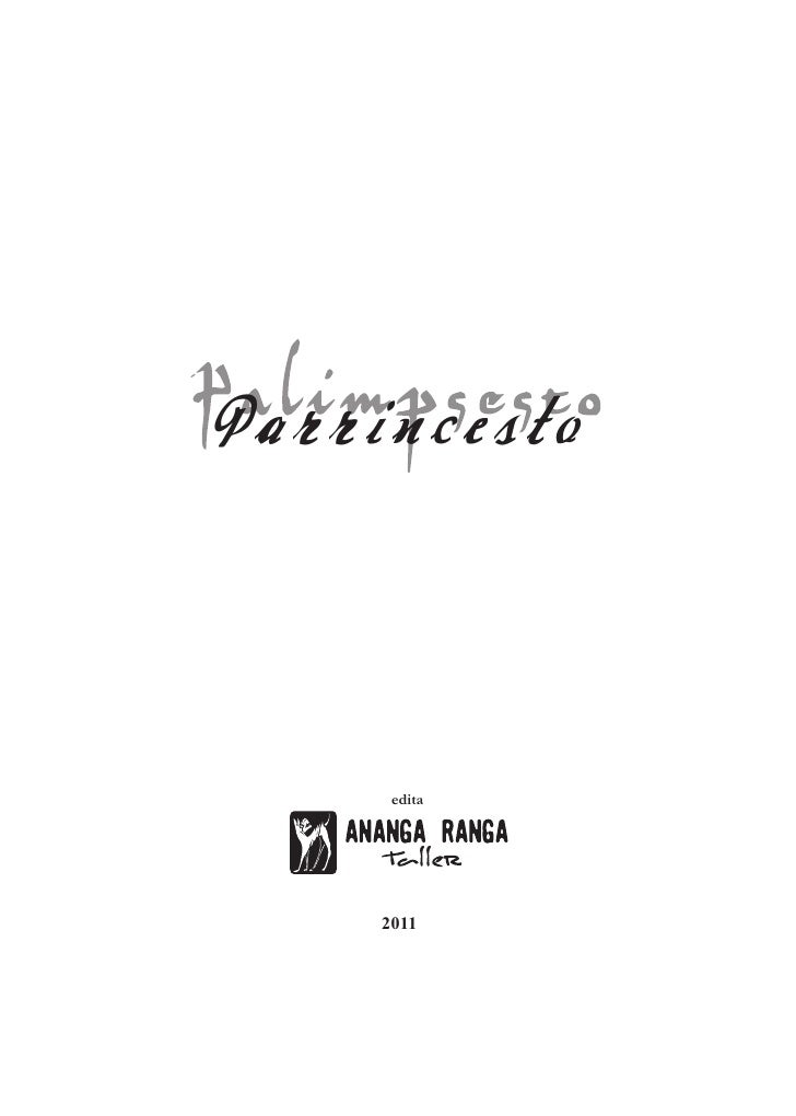 Parrincesto      edita     2011