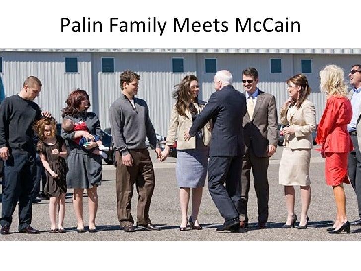 Palin Family Meets McCain