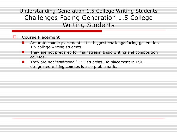 writing problems facing college students