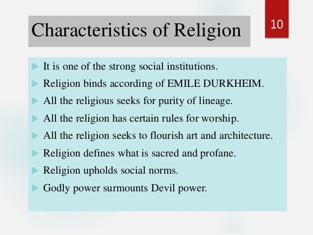 sociology and religion The sociology of religion unit of the american academy of religion serves as a  bridge between religious studies and the subdiscipline of sociology of religion.
