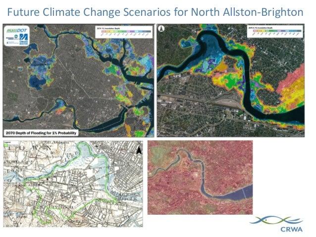 Future Climate Change Scenarios for North Allston-Brighton