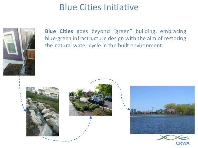 """Blue Cities goes beyond """"green"""" building, embracing blue-green infrastructure design with the aim of restoring the natural..."""