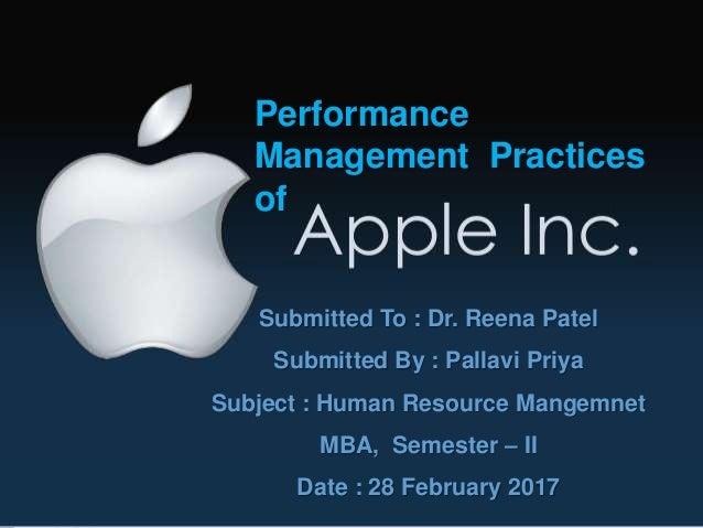 apple hr practices ppt