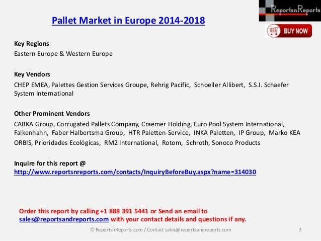Increased Export Activities Boosting Growth in the Pallet market in Europe: Technavio Report