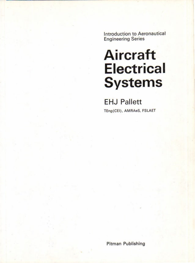 Aircraft Electrical Systems 3rd Edition