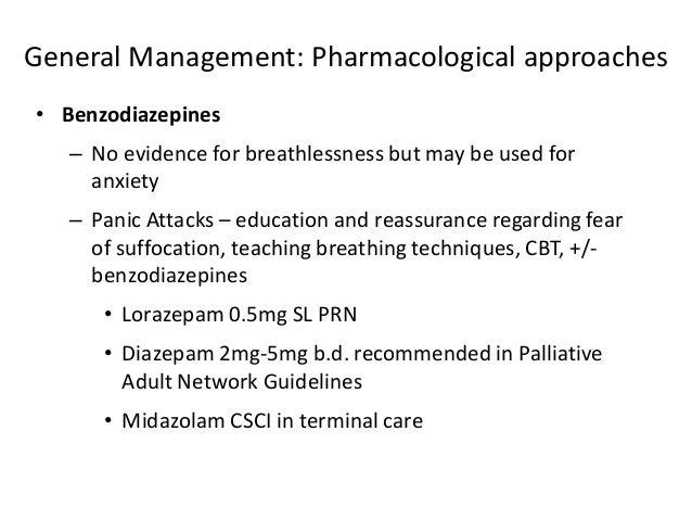 The usefulness of lorazepam