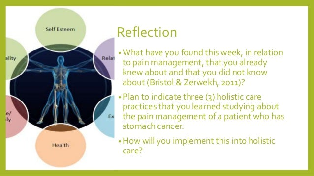 palliative care situation reflection 2018-01-22 this incident provided me with a valuable learning opportunity and were i to encounter a similar situation in the future, i would feel much better.