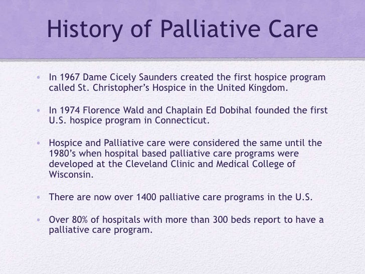 Palliative Care A Concept Analysis