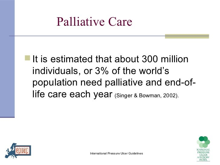 end of life palliative care guidelines