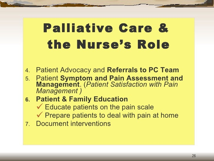 the role of the social worker in palliative care The open university's repository of research publications  the role of the social worker in palliative care, monroe develops this point, arguing that.