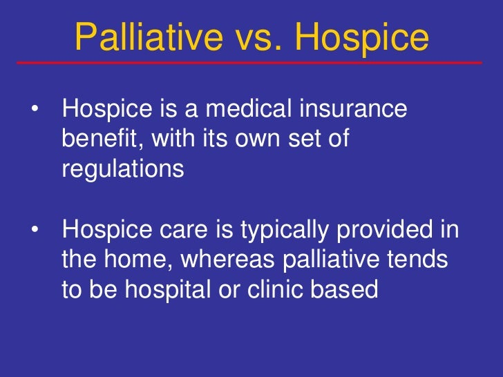 an overview of the hospice medical program and its impact Hospice & medical staffing firms one program the aca's potential impact on quality of care in medicare home overview: medicare payments & home health care.