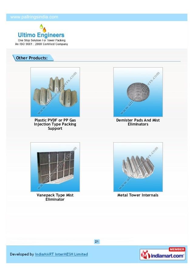 1 In Ceramic Raschig Rings