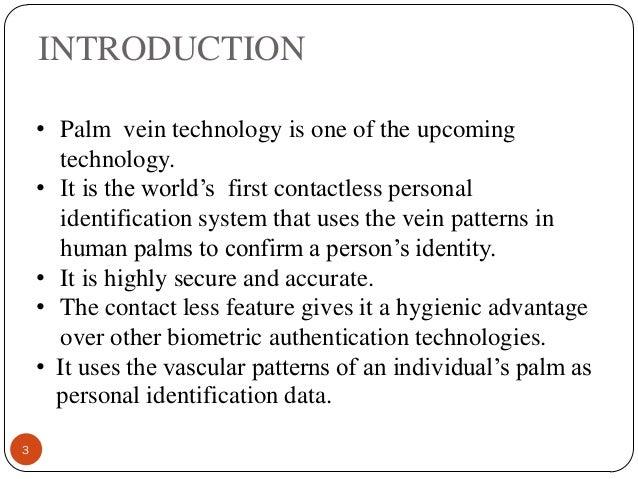 Palm-Vein Technology Slide 3