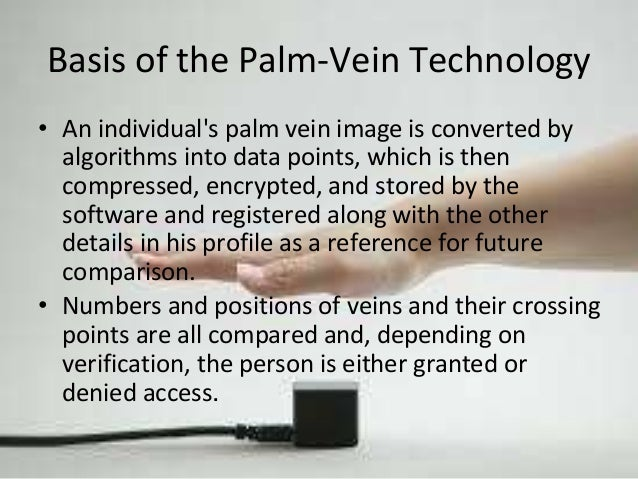 Fujitsu's Palm Vein Technology