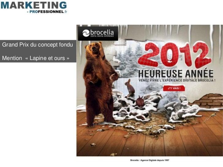 Grand Prix du concept fonduMention « Lapine et ours »