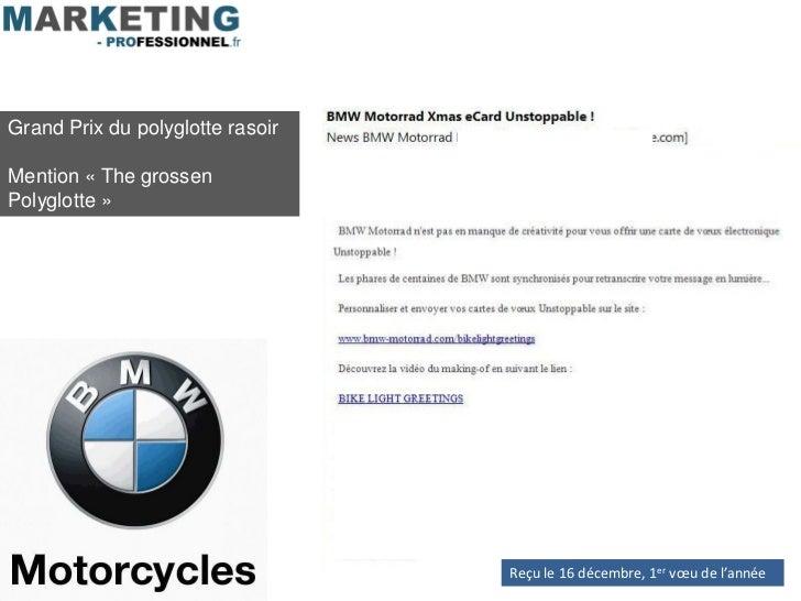 Grand Prix du polyglotte rasoirMention « The grossenPolyglotte »                                  Reçu le 16 décembre, 1er...