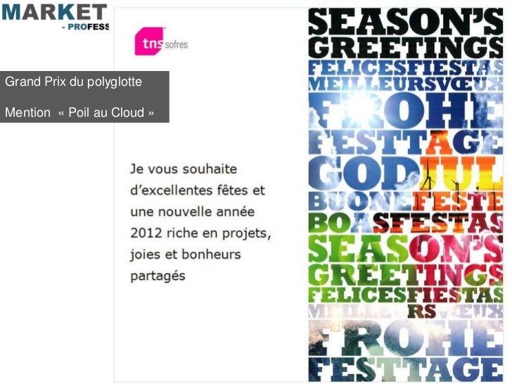 Grand Prix du polyglotteMention « Poil au Cloud »