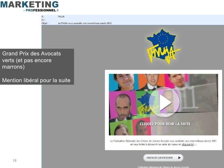 Grand Prix des Avocats verts (et pas encore marrons) Mention libéral pour la suite