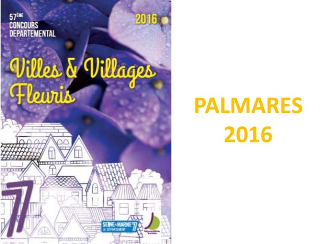 PALMARES 2016