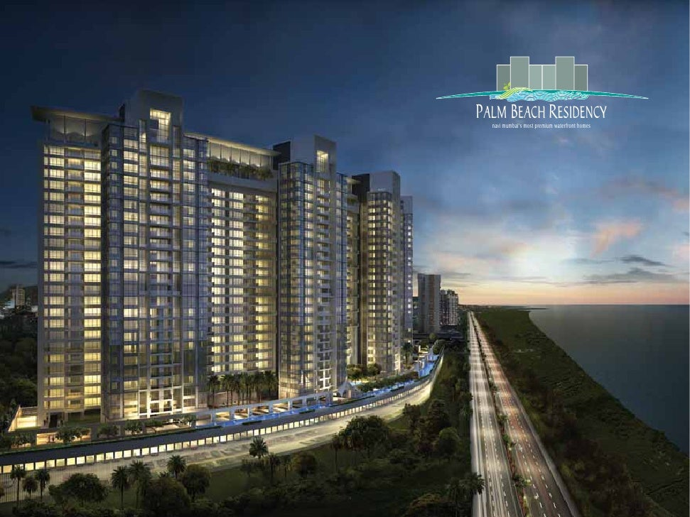 PALM BEACH RESIDENCY   navi mumbai's most premium waterfront homes