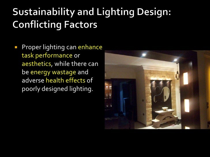    Artificial lighting represents    a major component of    energy consumption,    accounting for a significant    part ...