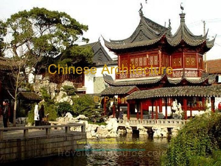 palmer m chinese architecture