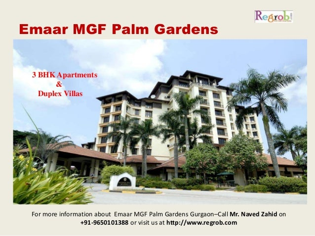 Emaar Mgf Palm Garden Gurgaon