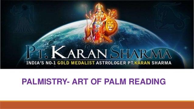PALMISTRY- ART OF PALM READING