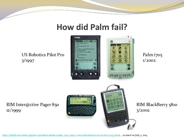 palm inc analysis Palm, inc was an american company that specialized in manufacturing personal  digital assistants (pdas) and various other electronics they were the designer.