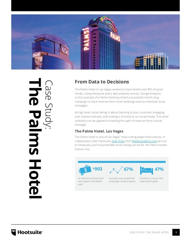 Tracking Social Media ROI With The Palms Hotel