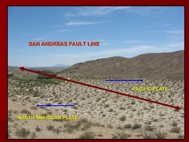 san andreas fault line pacific plate north american plate