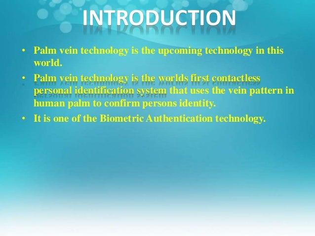 Palm vein technology ppt Slide 3