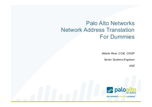 Palo alto networks NAT flow logic