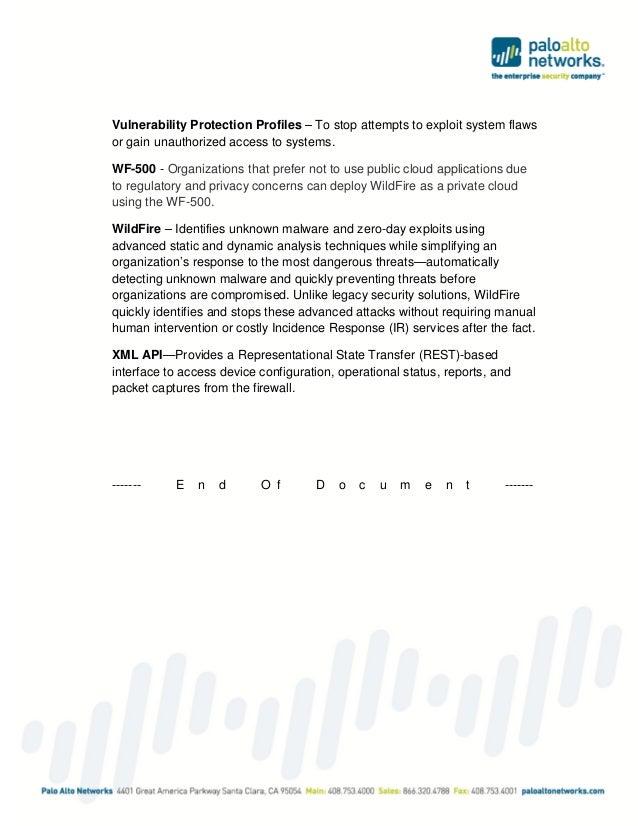 Palo alto networks pcnse6 study guide feb 2015