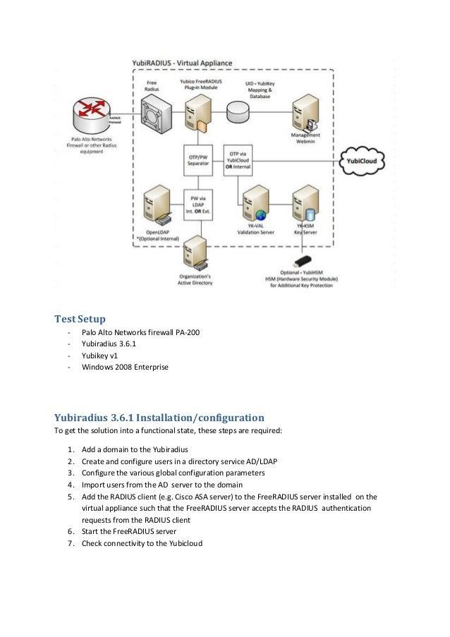 Palo Alto Networks PANOS 5 0 Radius Authentication OTP using