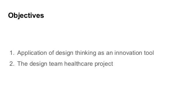 Design Thinking as innovation tool for Smart Nation:  Cancer healthcare Slide 2